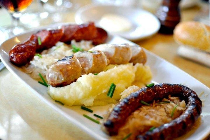 Chicken Sausage Platter
