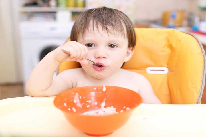 Important Thing To Remember When Child Starts Feeding Himself