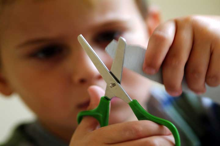 Increased Motor Abilities: Your Child Will Have Better Grip On Scissors Now