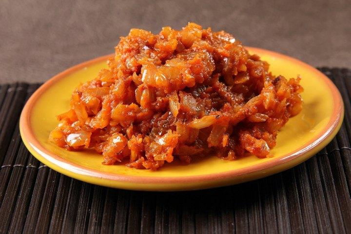 Onion Masala For Poori
