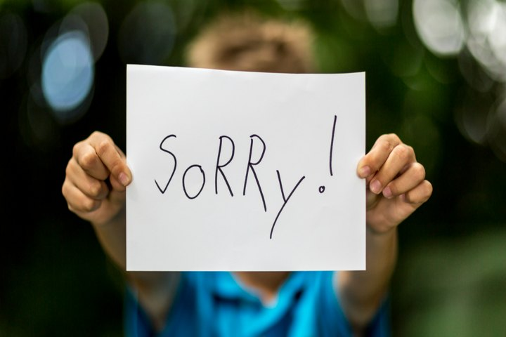 "Teach Your Child The Art To Say ""I'm Sorry"""