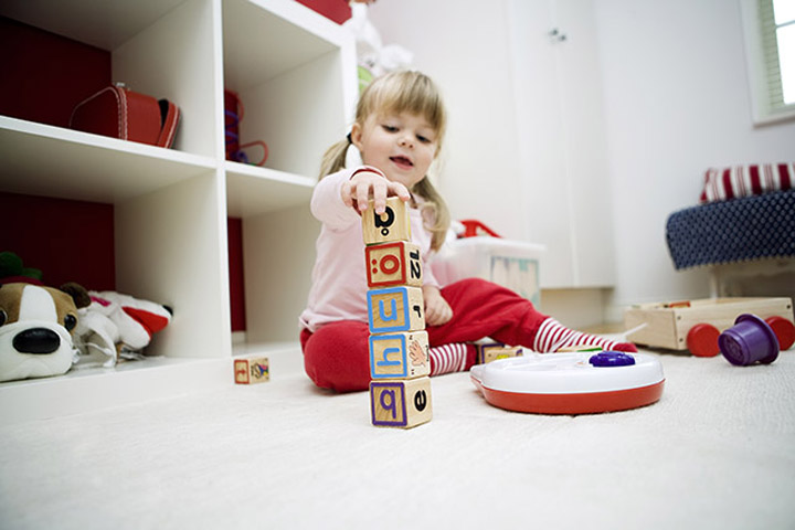 Your Baby's Likely To Sort Objects Depending On Colors &  Shapes