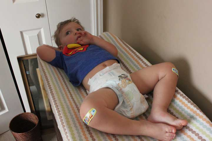 Your Child Is Likely To Be Less Cranky During Diaper Change