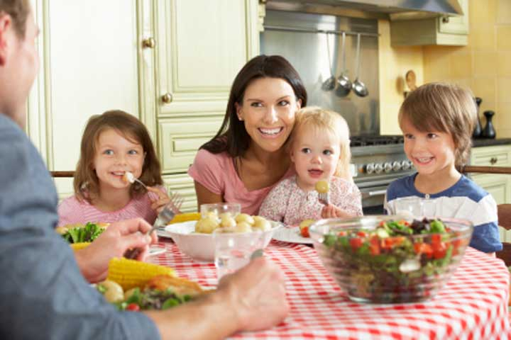 What Should An Ideal Family Meal Time Be Like?