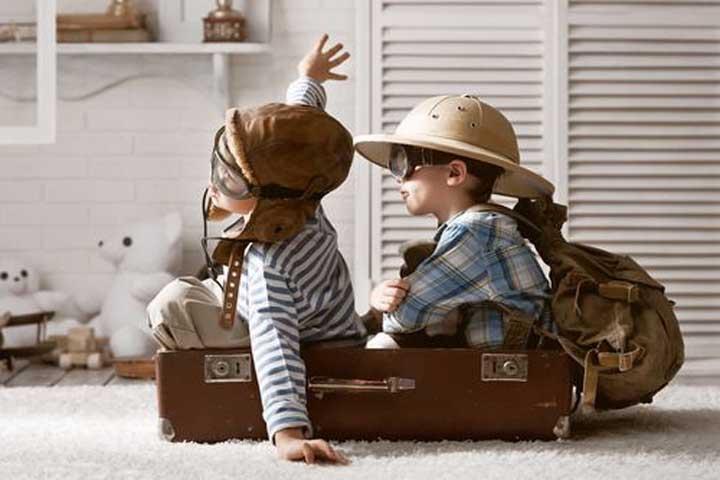 How Far Should You Let Your Kid's Imagination Soar?