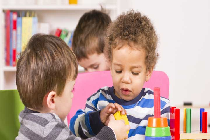 Teaching Your Preschooler To Share