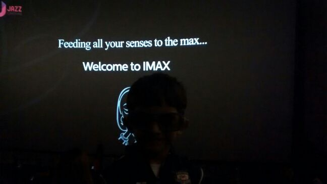 New experience--iMax